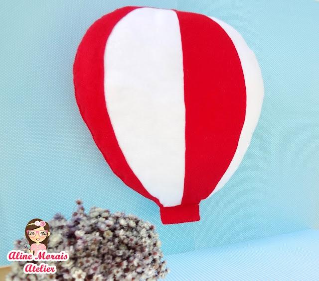 balão de feltro para enfeitar enfeite decoração decorar ensio fotográfico