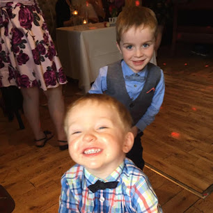 My gorgeous Grandsons Sean and Tom