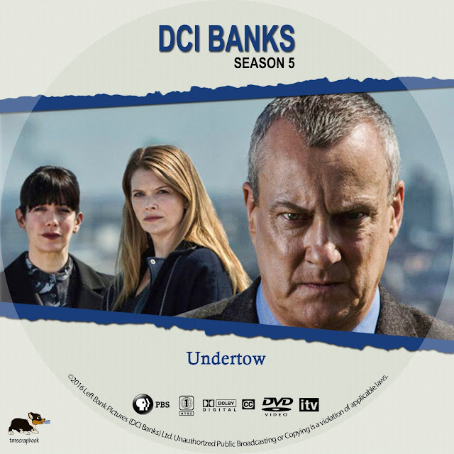 DCI Banks Season 5 Disc 2 DVD Label