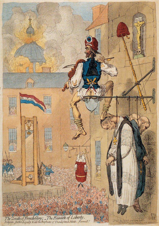Reign Terror French Revolution Cartoon