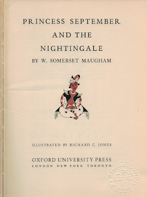 Princess September and the Nightingale, Richard C. Jones