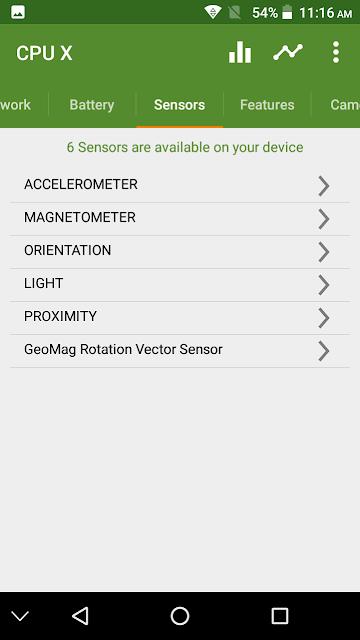 Walton Primo RM3s Sensors
