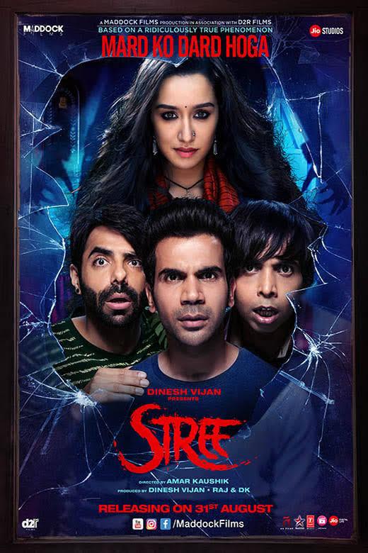 STREE 2018 Hindi Movie PreDVD 480p 350MB - Mp4movieslol