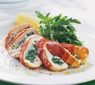 chicken with spinach and ricotta recipe