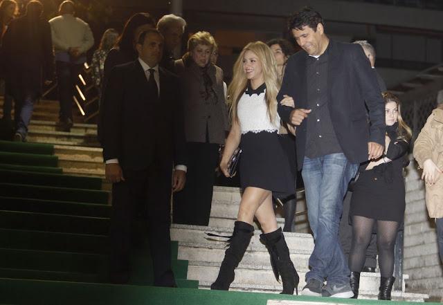 Shakira at Zootropolis Barcelona Premiere