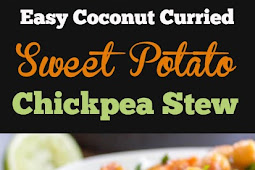 Easy Delicious Sweet Potato and Chickpea Stew