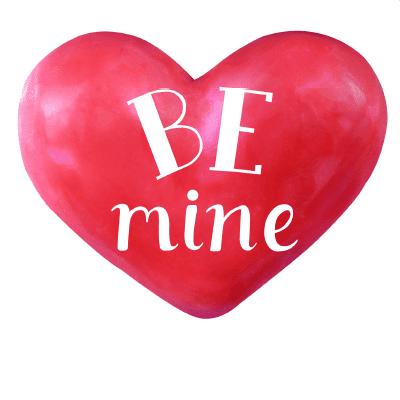 Be Mine Heart Emoji