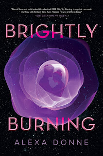 Reivew of Brightly Burning by Alexa Donne