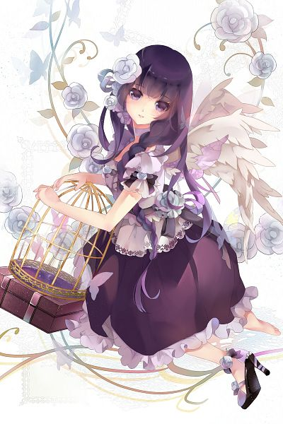 Anime Wallpaper Girls Hair Blonde Eyes Purple I Algod 227 O Doce Imagens Fofas Para Voc 234 S Verem