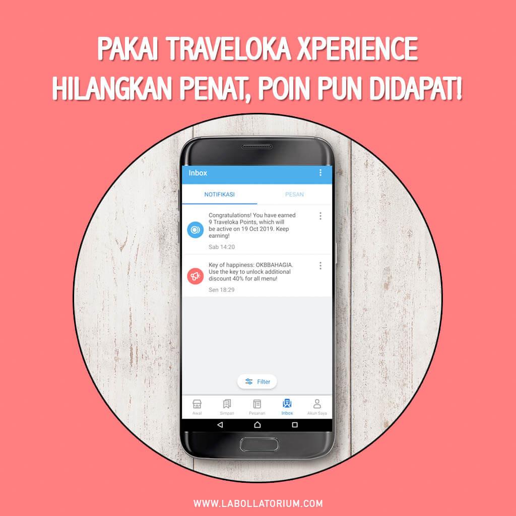 Traveloka Xperience Seru Untuk Bebaskan Penat Sesuai Minat Plus Dapat Point Reward #XperienceSeru