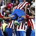 En un partido clave de #LaLiga, el #AtléticoMadrid amargó al #RealMadrid en el Bernabéu