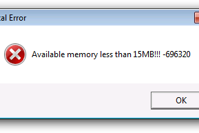 "Cara Mengatasi ""Available Memory Less Than 15 MB"" Pada Windows 7"
