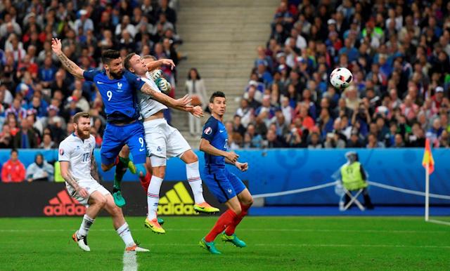 Olivier Giroud Cetak goll ke-lima bagi Perancis