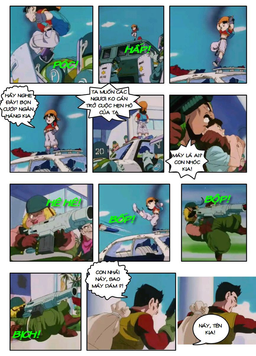 Dragon Ball GT chap 3 - Trang 8