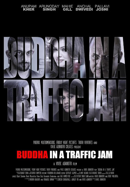 Poster of Buddha In A Traffic Jam 2016 720p Hindi HDRIp Full Movie Download