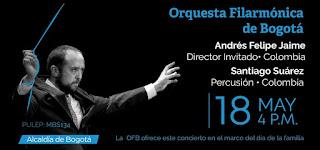 Concierto Filarmonica de Bogotá Día de la Familia 2019