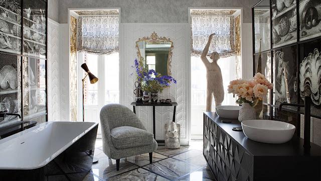 El elegante baño en Casa Decor 2017 de Erico Navazo