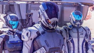 Mass Effect Andromeda Smartphone Wallpaper