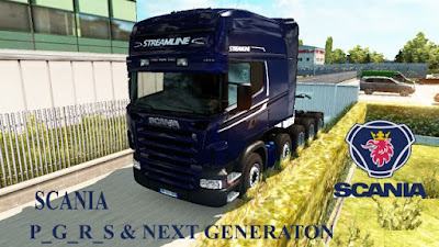 Scania all in one pack