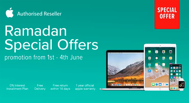 Promosi Apple Store Lazada Malaysia