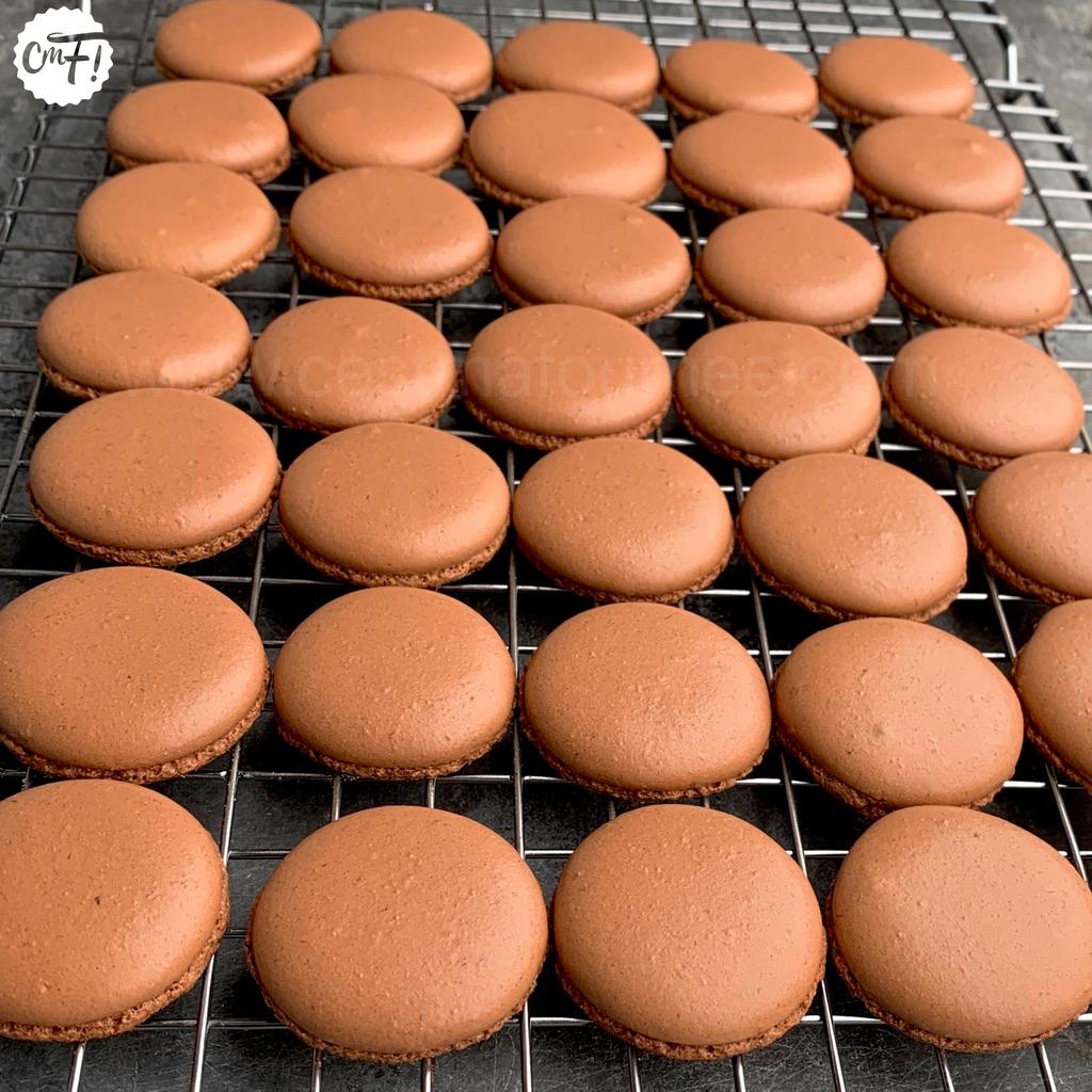 Macarons La Recette Des Coques