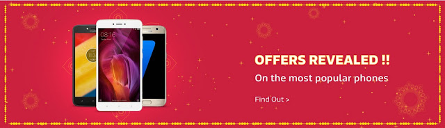 Flipkart Big Diwali Sale  discounts, cashbacks, exchange offers, and no cost EMIs on various products