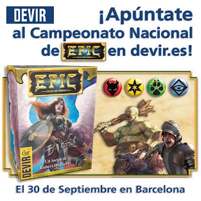 Campeonato Nacional de EPIC en Barcelona