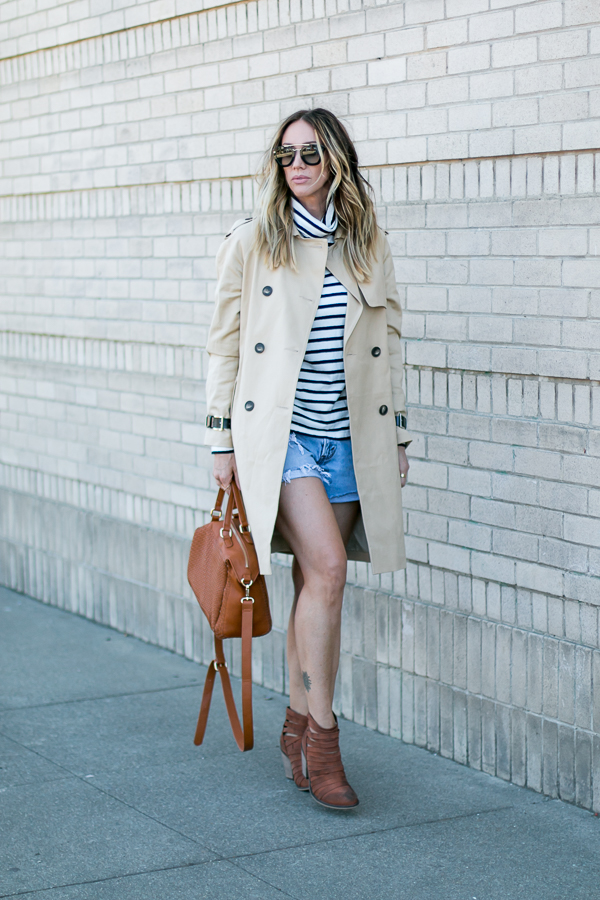 the perfect tan trench coat