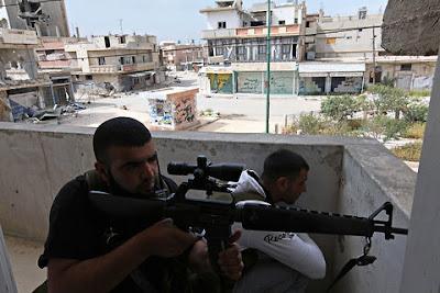 Senjata-senjata Yang Digunakan Mujahidin Suriah