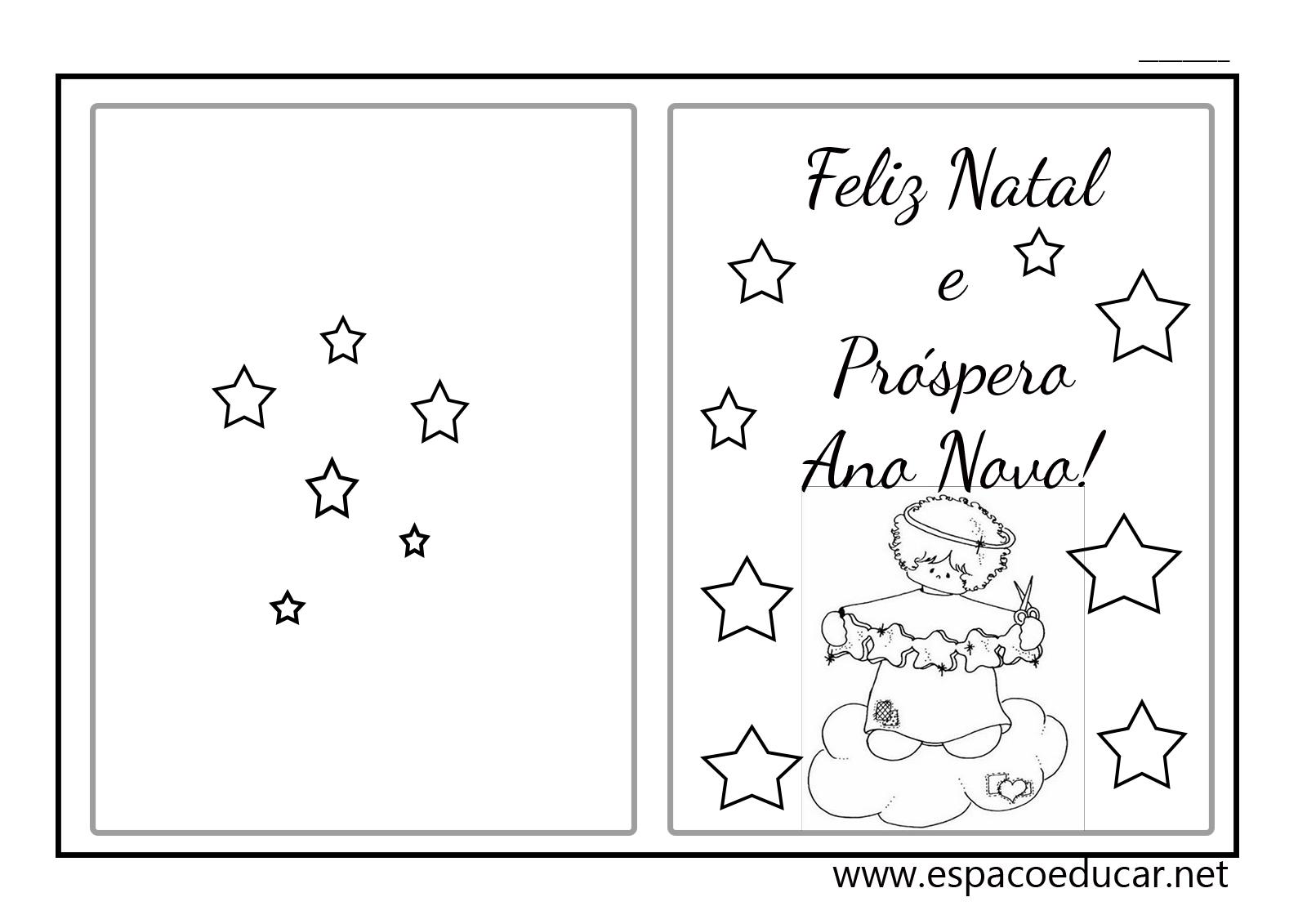 Lindos Cartões De Natal Prontos Para Imprimir! Cartão De