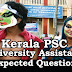 Kerala PSC : Expected Question for University Assistant Exam - 06