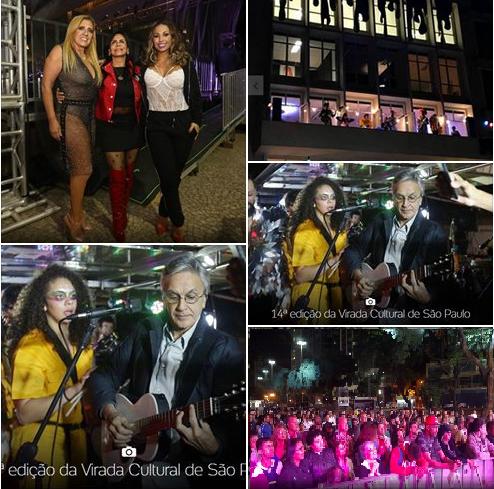 14ª edição da Virada Cultural de São Paulo, mesmo com frio o centro ficou cheio de atrações