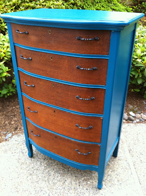 Sophisticated Junk Pile: 1920s Antique Tallboy