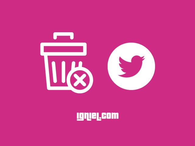 Cara Menonaktifkan (Deaktif) Twitter Sementara atau Permanen