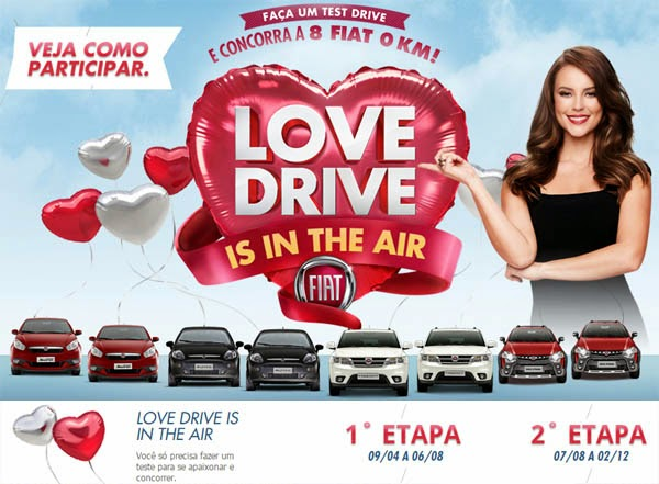 Promoção Love Drive da Fiat