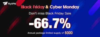 FlyVPN Black Friday & Cyber Monday deals