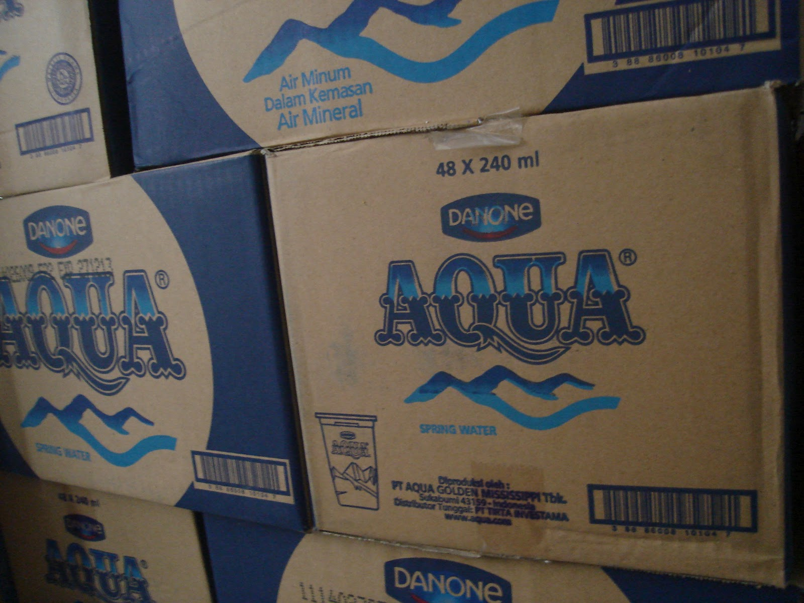 1 Galon Berapa Liter Aqua Home Service Baskoro Aqua 240 Ml
