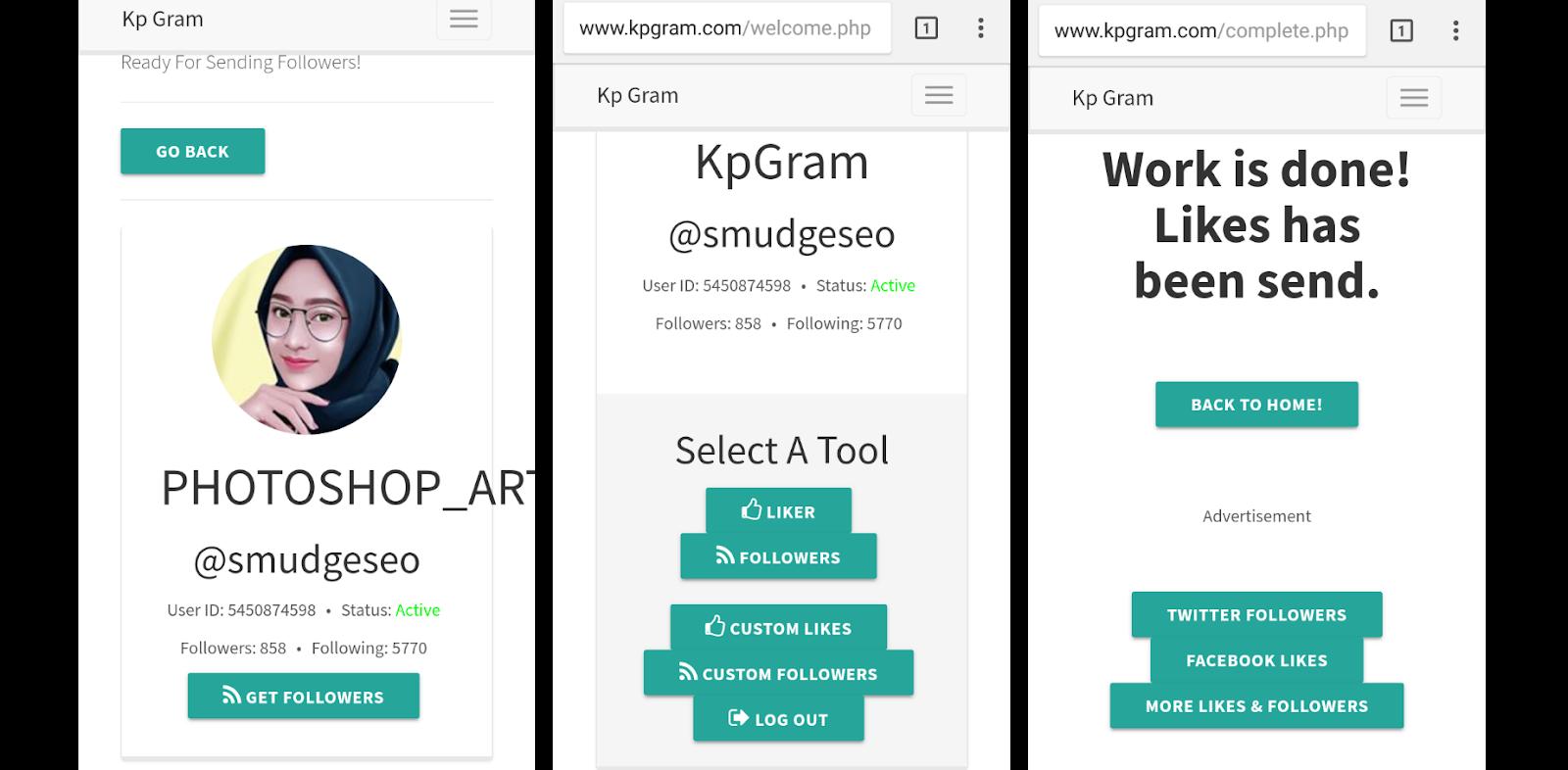 Cara Membuat Auto Like Instagram Menggunakan Kp Gram