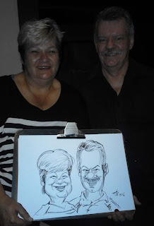 caricature artist, Johannesburg, South Africa,live caricatures
