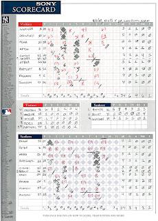 Rays vs. Yankees, 04-05-08