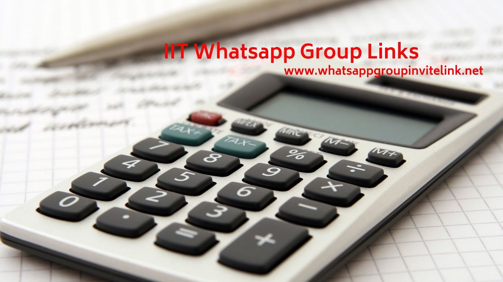 Whatsapp Group Invite Links: IIT Whatsapp Group Links