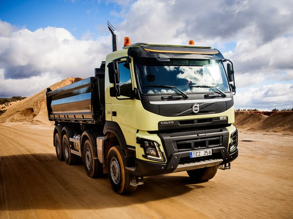 подробный обзор всего модельного ряда грузовых машин Volvo