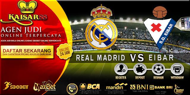 PREDIKSI TEBAK SKOR JITU LIGA SPANYOL REAL MADRID VS EIBAR 23 OKTOBER 2017
