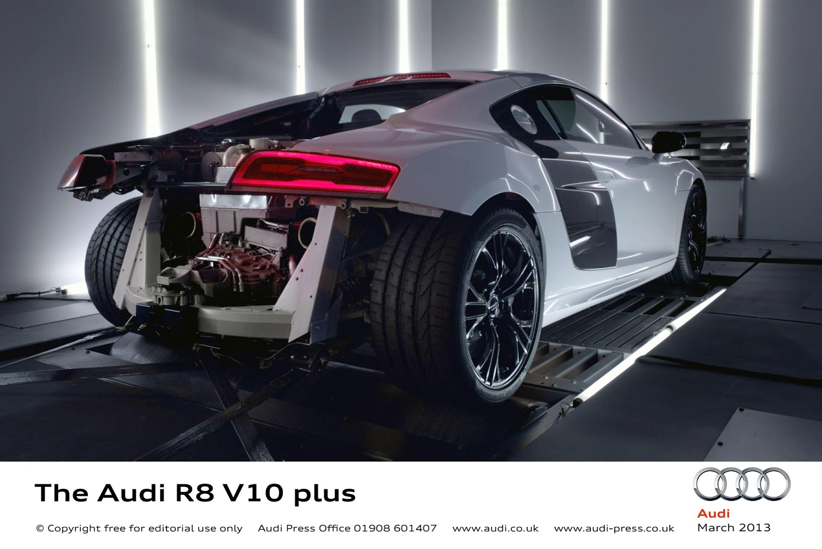 Licence to Speed - For Malaysian Automotive: 550PS New Audi R8 V10 ...