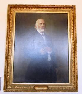 προσωπογραφία του Νικόλαου Σαρίπολου έργο του Σπύρου Προσαλέντη στο Μουσείο του Πανεπιστημίου Αθηνών