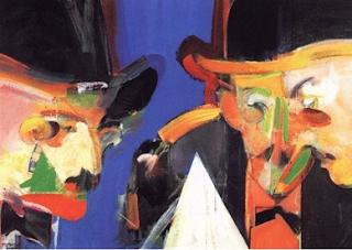 """""""Triplo Retrato de Fernando Pessoa"""", de Júlio Pomar"""