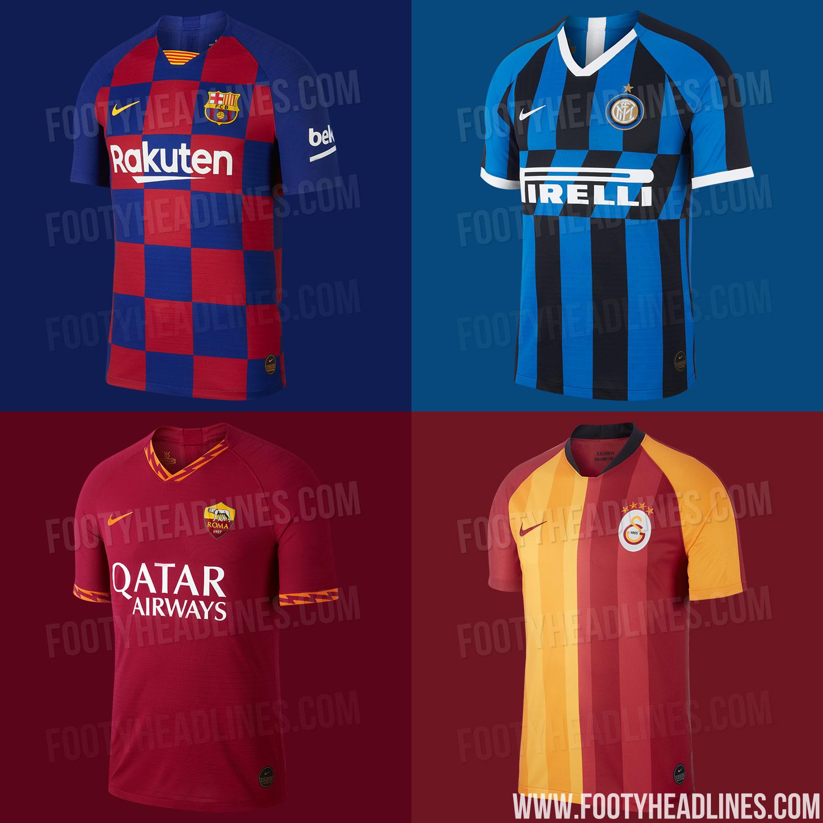 7829ea152 Nike Replica Football Kits To Retail At 90 Euro From 2019-20 Season