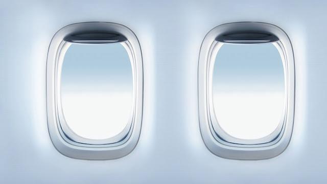 لماذا نوافذ الطائرات دائما دائرية أو بيضاوية وليست مثلثة أو مربعة ؟