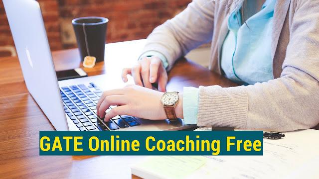 GATE Online Coaching free