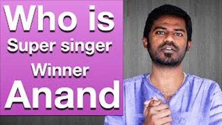 Who is super singer season 5 winner Anand Aravindakshan